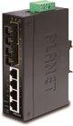 IP30 4-Port 10/100Base +Port 100Base-FX Ethernet Switch