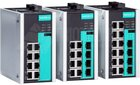EDS-508E/512E Serie, Full Gigabit managed Ethernet Switche