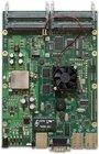 RB800 mit MPC8544 800MHz CPU, 256MB RAM, 3xGbit, 4x miniPCI, 1x miniPCIe