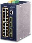 Industrial L3 16-Port 1Gbit TP 802.3at PoE + 4Port SFP Switch