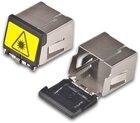 Staubschutzkappe für LC Duplex Kupplung mit Dual Shutter