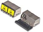 Staubschutzkappe für SC Duplex / LC Quad Kupplung mit Dual Shutter