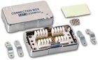 KAT6 Modul zur Verbindung von 2 Verlegekabeln, LSA