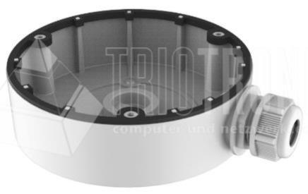 Junction Box für Dome Kameras, Ø 26.7 x 35 mm