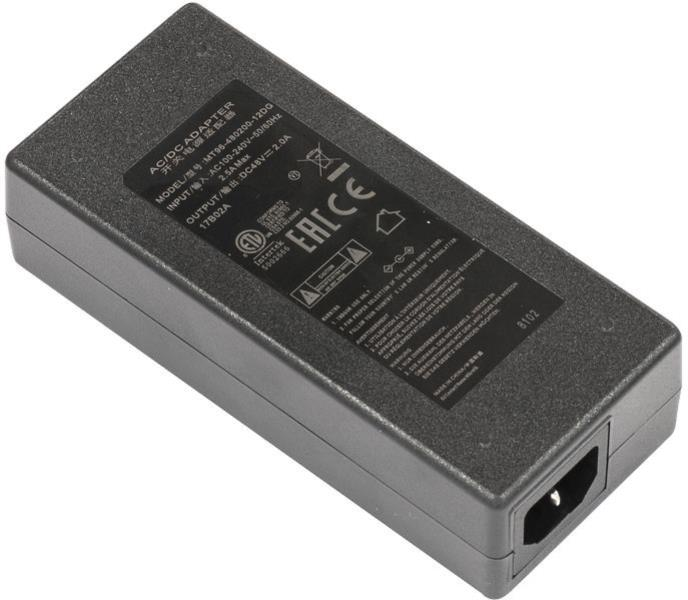 Full Power 48V 2A 96W Power Supply + Power Plug