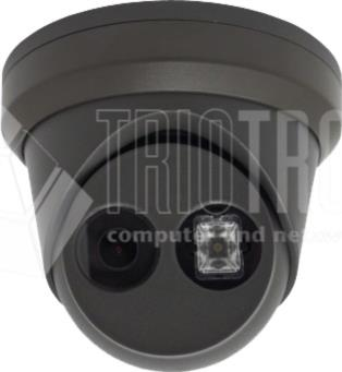 4MP Ultra-Low Light Fixed Turret Kamera, EasyIP 3.0, H.265+, EXIR 2.0, black