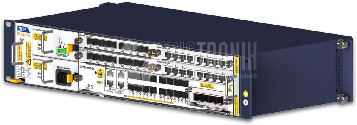 Gigabit Ethernet Layer3 Modular Switch 2x Haupt-, 4x Sub- und 1 Erw. Slot