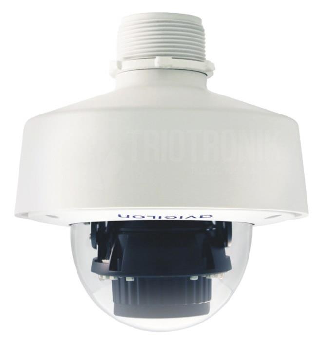 1.3MP H4 SL Dome-Kamera mit LightCatcher™-Technologie, Outdoor, IR