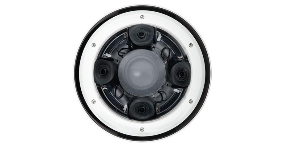 12MP (4x3MP), 360° H4 Multisensor Kamera, LightCatcher, 2.8mm, WDR