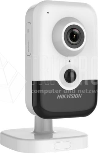 4 MP IR Fixed Cube Network Camera, H.265+, IR up to 10m, PoE, 30 fps
