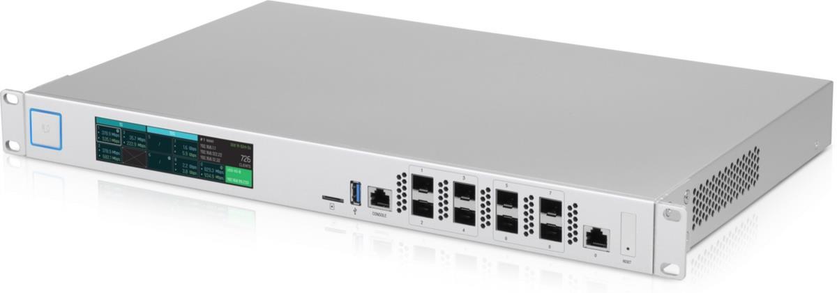 UniFi XG Security Gateway, 8x 10 Gigabit SFP+, 1x 1 Gigabit RJ45