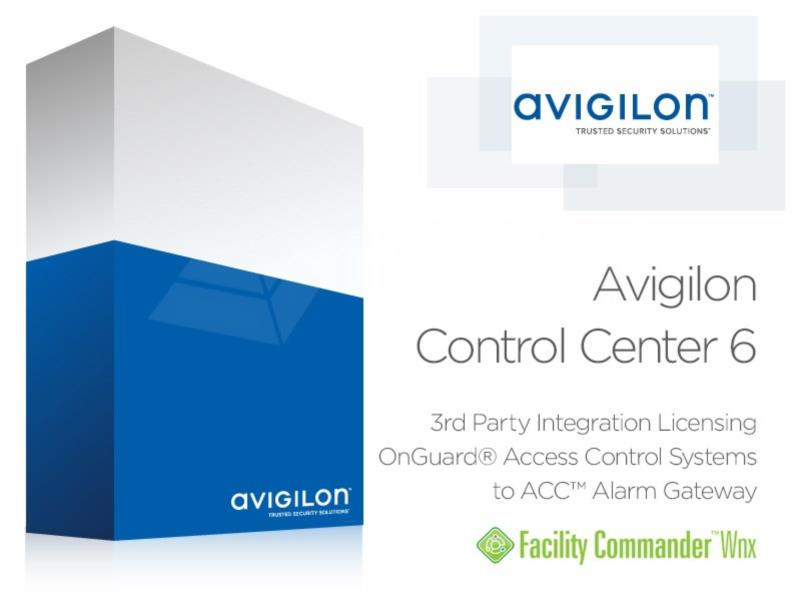 ACC6 OAAP Certified Lenel OnGuard Integration Lizenz