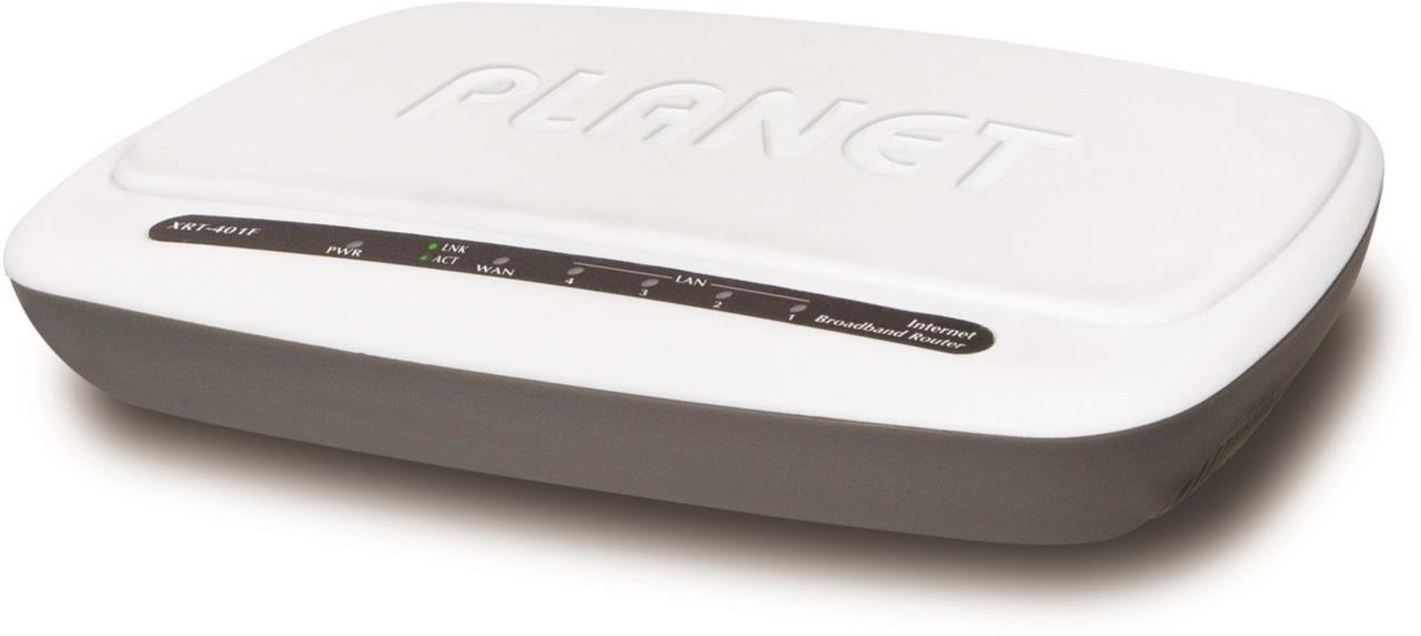 4-Port LAN + 1-Port WAN Broadband Router
