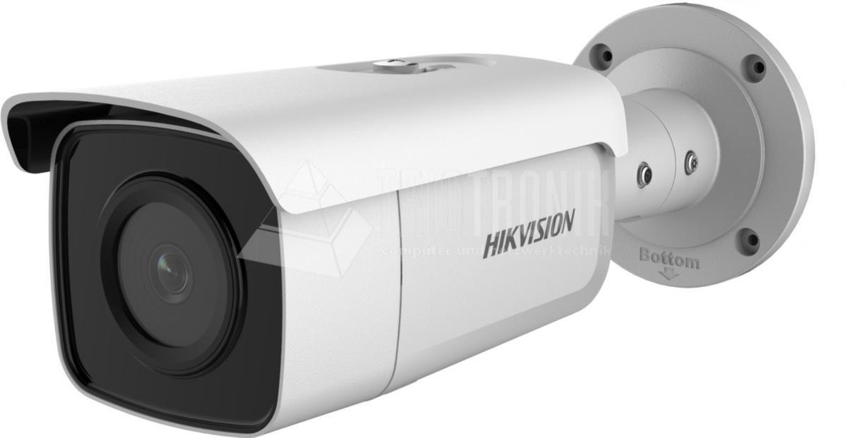 4.0MP IR Fixed Bullet Netzwerk Kamera, DarkFighter, 0.007 Lux, H.265, PoE