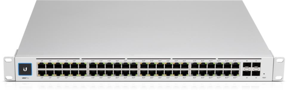 UniFi USW Pro PoE 802.3at/bt 48-Port Gigabit Switche mit Layer3 Features, SFP+